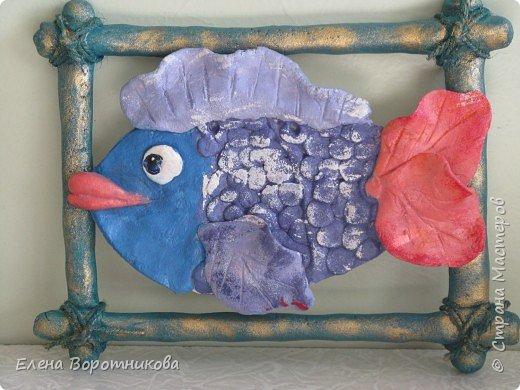 Лепка: Рыбка