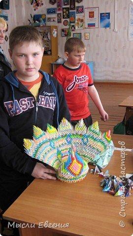 Оригами модульное: павы фото 2