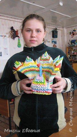 Оригами модульное: павы фото 3