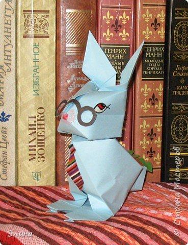 Оригами: Мой умный зайка