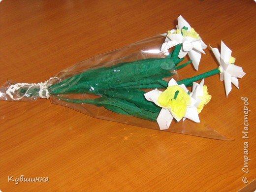 Оригами модульное: вот такой чудесный букет к празднику!