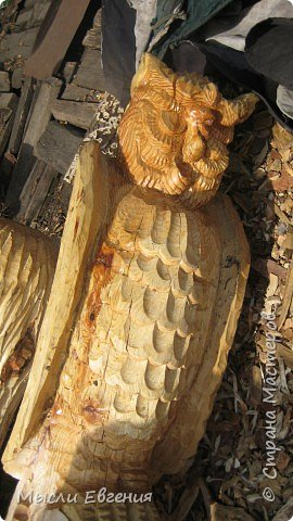 Резьба по дереву: Живет такой мастер... фото 4
