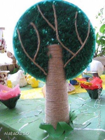 Я и дети младшей группы (совместное творчество), 15 мая 2009 года, принимали участие в конкурсе посвящённому международному дню семьи на тему: «Моя семья». Поделка была сделана из сбросового материала. фото 9