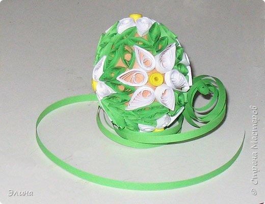 Квиллинг:  Пасхальный сувенир