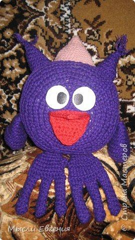 Вязание крючком: смешарик совунья