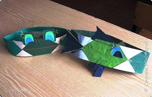 Оригами: Маски - шапочки к спектаклю фото 2