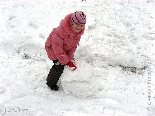 Три богатыря-снеговика! фото 2