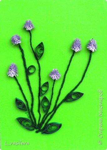 Квиллинг: Цветы фото 2