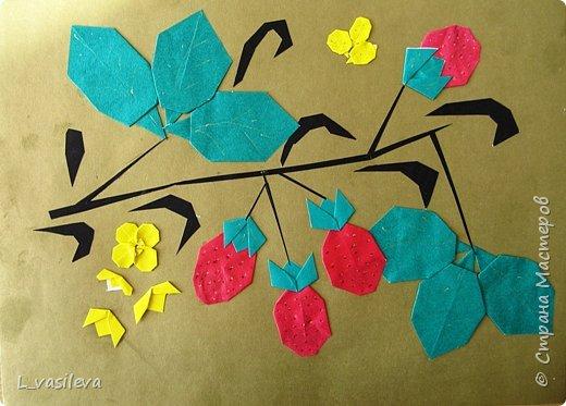 Оригами: Золотая хохлома фото 1