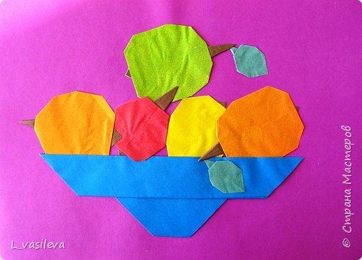 Оригами: Наливные яблочки