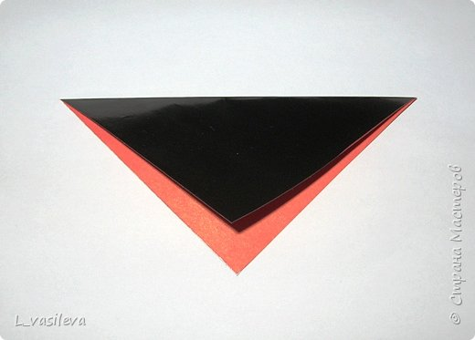 Оригами:  Снегири-Схема фото 1