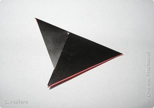 Оригами:  Снегири-Схема фото 3