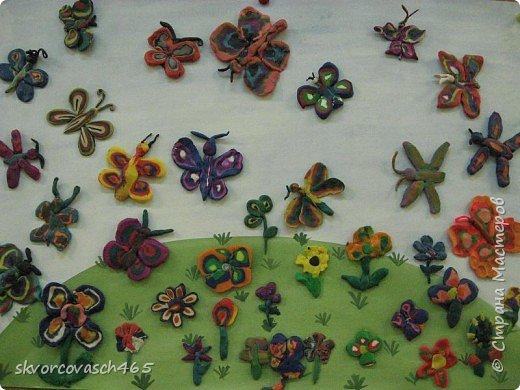 Лепка: Бабочки