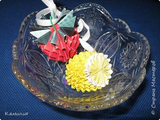 Оригами модульное: Вкусная парочка