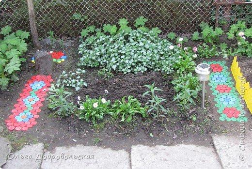 Мозаика: Во саду ли... фото 1