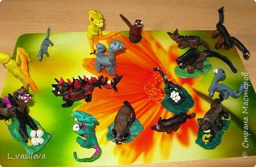 Лепка: Динозаврики фото 1