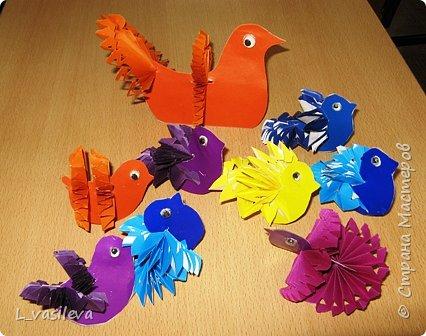 Бумагопластика: На волю птичку выпускаю... фото 1