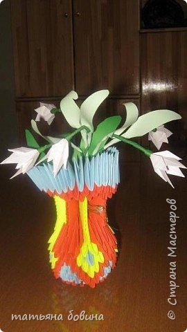 Оригами модульное: весна фото 2