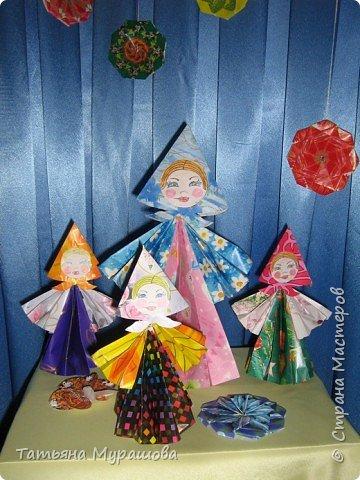 Оригами модульное: коллективная работа