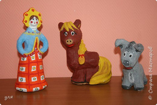 Папье-маше: игрушки