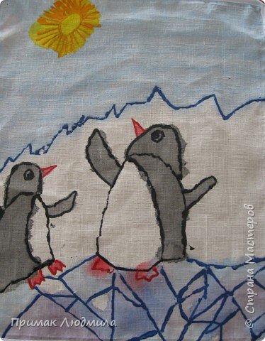 Батик: Пингвины