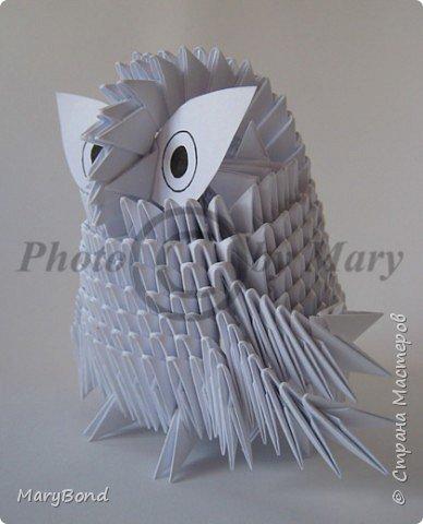 Оригами модульное: Совенок фото 1