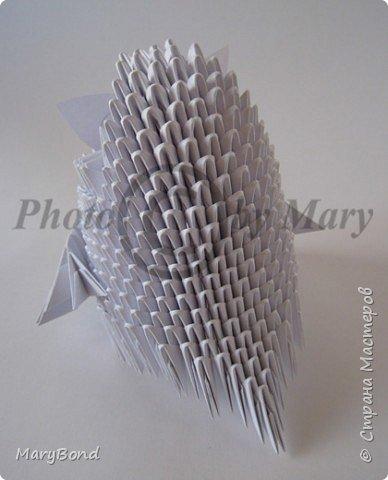 Оригами модульное: Совенок фото 2