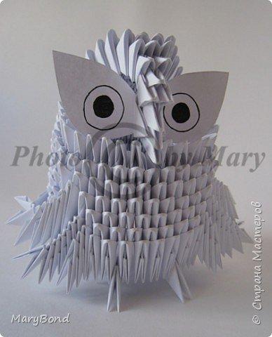 Оригами модульное: Совенок фото 3