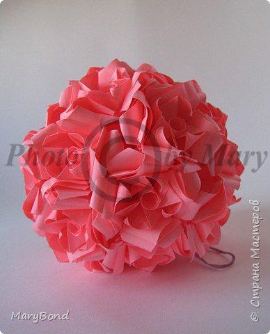 Кусудама: Цветы фото 2