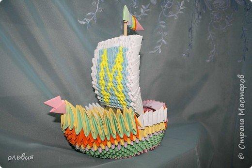 Оригами модульное: ну, нравиться нам модульное оригами