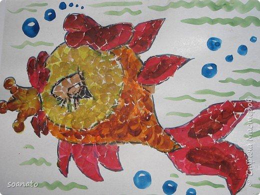 Мозаика: Яичная скорлупа