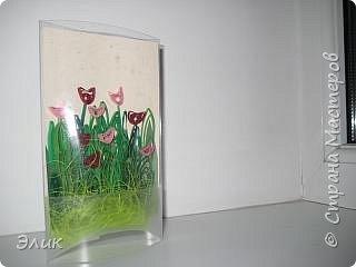 Квиллинг: Тюльпаны фото 1