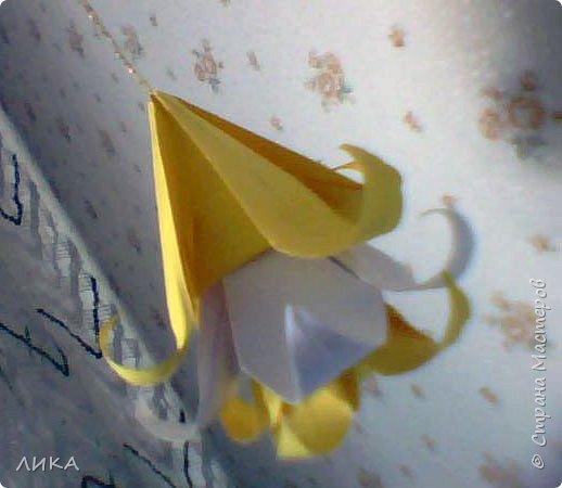 Кусудама: Солнечная кусудама фото 5