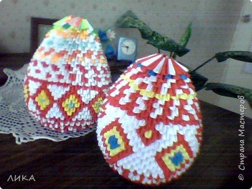 Оригами модульное: Скоро ПАСХА!!!!!!!!! фото 3