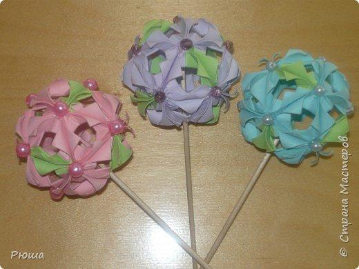 Кусудама: Цветы