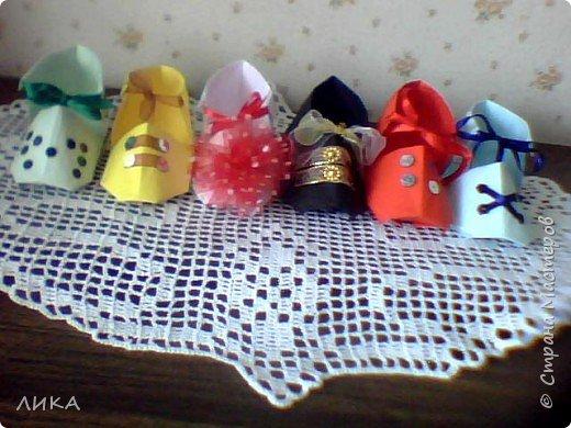 Оригами: Башмачки :) фото 9