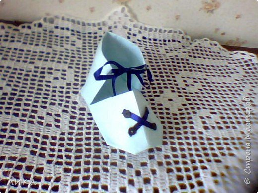 Оригами: Башмачки :) фото 3