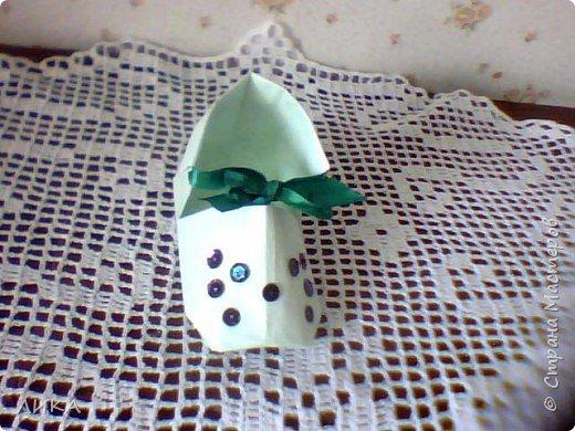 Оригами: Башмачки :) фото 5