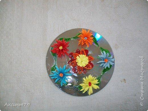 Квиллинг: Квиллинг на диске