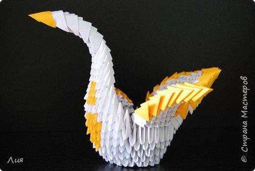 Оригами модульное: Птичка - невеличка