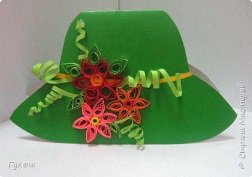 Квиллинг: А это наши весенние шляпки фото 4