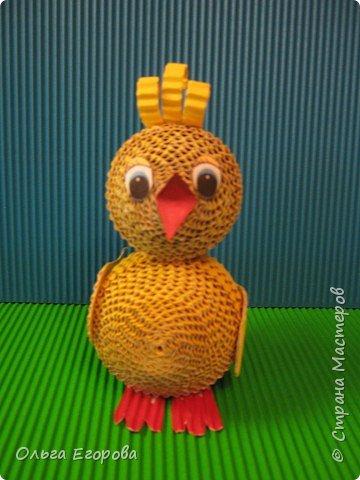 Квиллинг: Цыплёнок фото 1