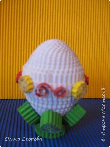 Квиллинг: Пасхальное яичко