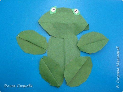 Аппликация: Лягушата фото 6