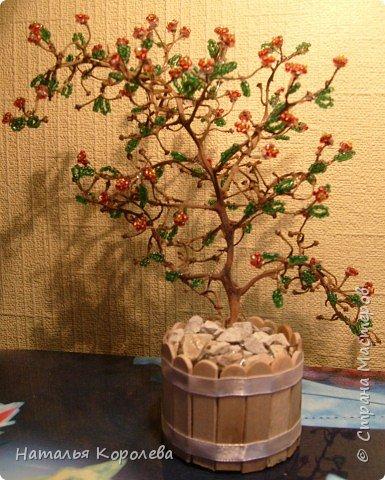 Бисероплетение: Бисерные деревья фото 2