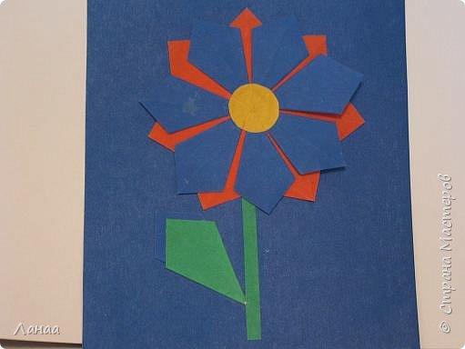 Оригами: цветок
