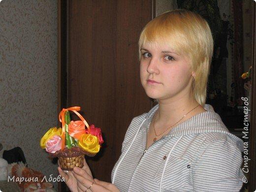 Розы в карзинке фото 4
