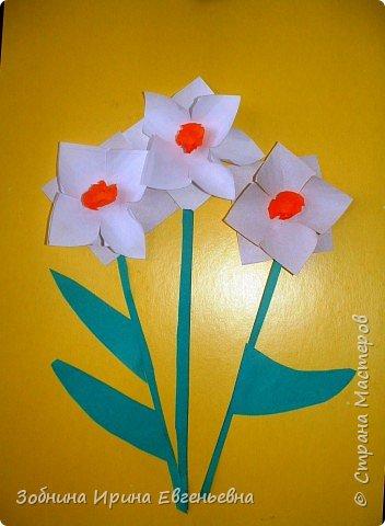 Аппликация: Первые цветы фото 2
