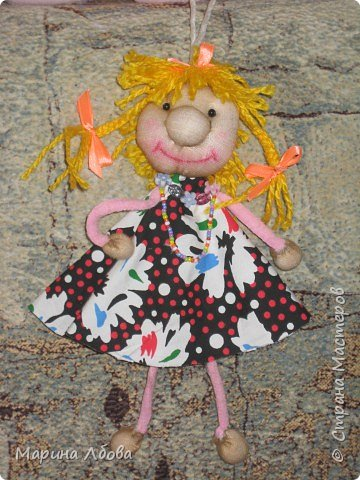 Бубаноска-текстильная кукла фото 1