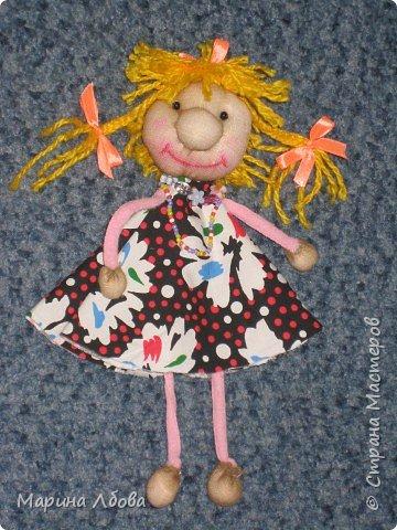 Бубаноска-текстильная кукла фото 2